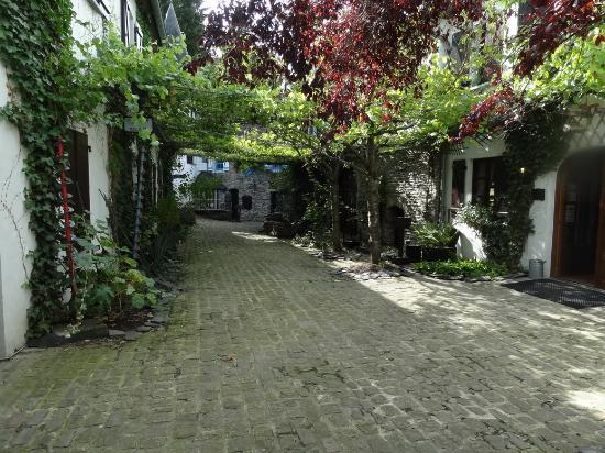 Domaine du Moulin d'Asselborn : Patio