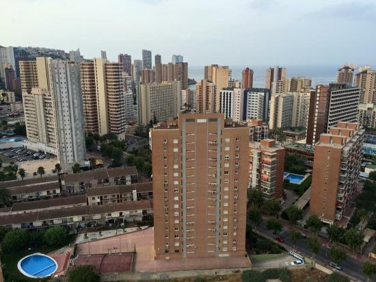 Playamar Apartments Click Benidorm: balcony view