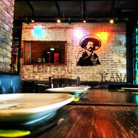 Central Mexicana Restaurante&Tequila: Another one of Pancho Villa