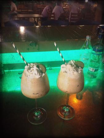Mulberry: Oreo milkshake