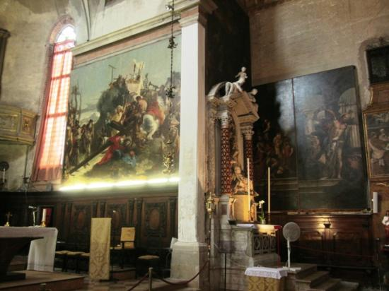 Chiesa di Sant'Alvise : Paintings by G.B. Tiepolo in Sant'Alvise