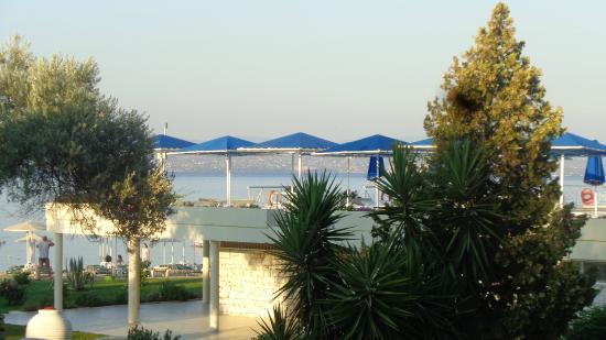 Bomo Palmariva Beach Hotel: prise de vue terrasse restaurant