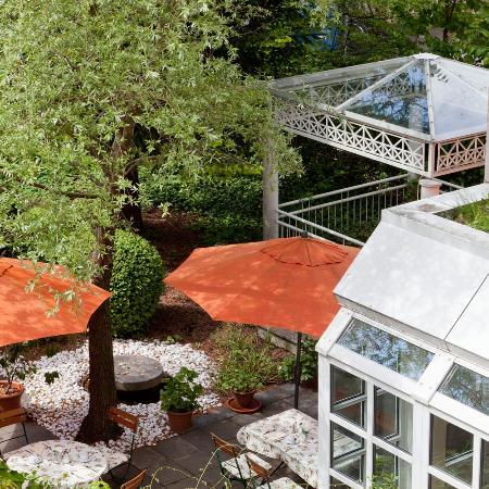 Asam Stadthotel: Garten