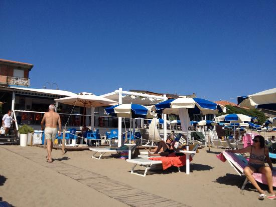Bagno Castiglione : Il bar-ristorante