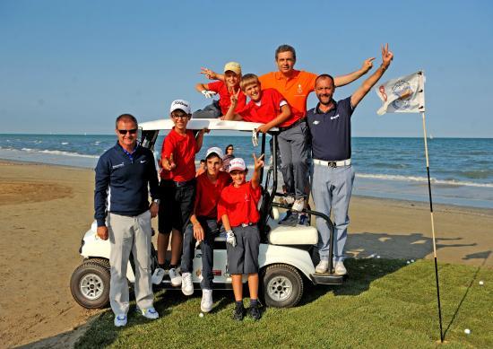 Beach golf al fantini club bild von sportur club hotel cervia