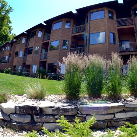 Egg Harbor, WI: The Landmark Resort features 40 wooded acres.