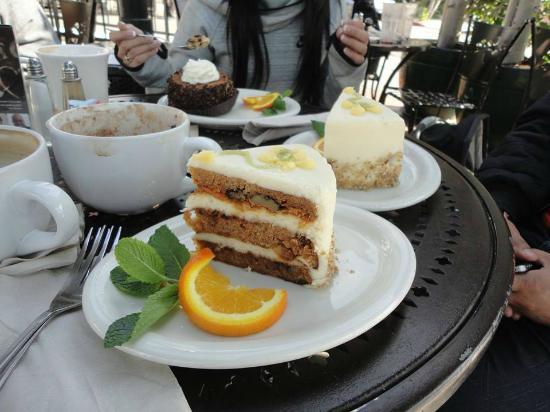 Urth Caffe Carrot Cake