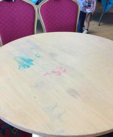 Tattershall Lakes Country Park: Typical Table