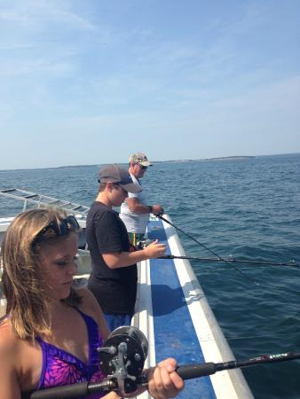 Paradise On The Sea Adventures: On the ocean, mackerel fishing for all on board