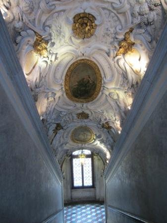 Scuola Grande dei Carmini: the  staircase