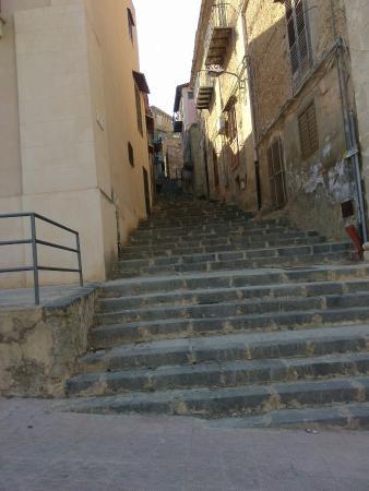 Al Cortiletto : Die Treppen muss man gehen um ins Hotel zu kommen