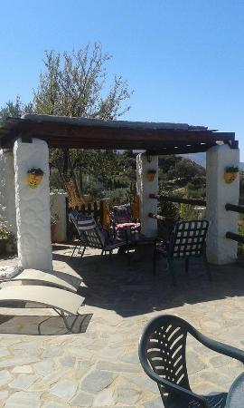 La Casa del Viento: Outdoor dining