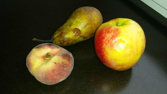 Hotel O Terrasses: Fruits