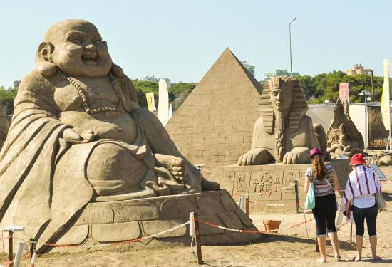 Expo 2016 mascots Ece&Efe - Picture of Sandland, Antalya ...