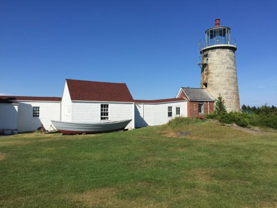 Monhegan Island, ME: Monhegan Lighthouse and Art Museum