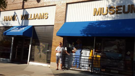Hank Williams Museum Aufnahme
