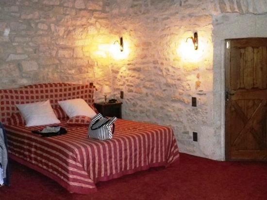 Chateau de la Fleunie: chambre tour