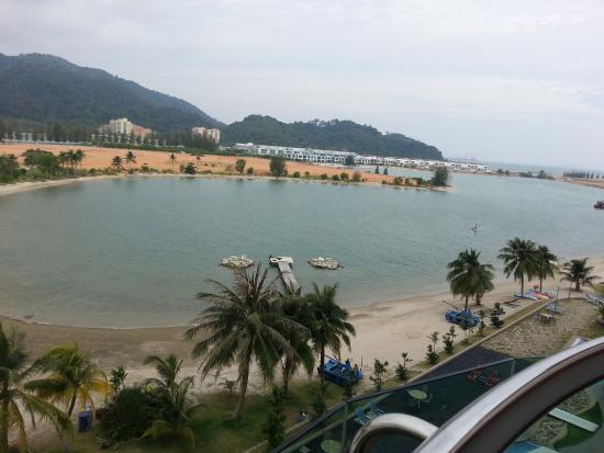 Marina Island Pangkor Resort & Hotel: View from the room balcony