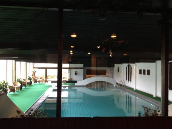 Morgedal, Noruega: La piscina coperta