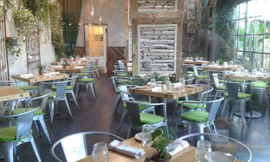 Inside The Cafe Eclectic Eco Chic Design Picture Of Terrain Garden Cafe Westport Tripadvisor