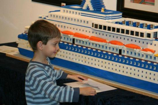 Our Largest Toy Ft Lego Cruise Ship Picture Of The Hamilton - Toy cruise ship