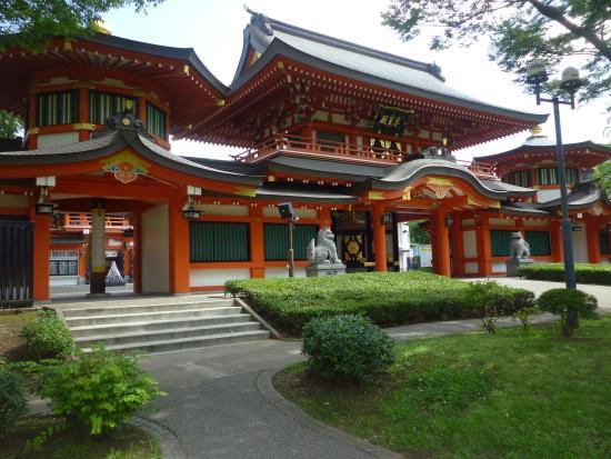 Chiba Shrine : ศาลเจ้า Chiba