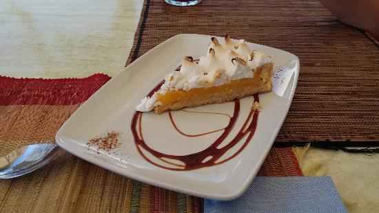 Casa Mercedes: Tarta de Lemon pie con merengue suizo