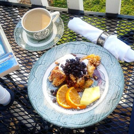 Elk Forge B&B Inn, Retreat and Day Spa : my delightful breakfast