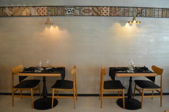 tavoli a parete - Picture of Hortus Ristorante, Cusano ...