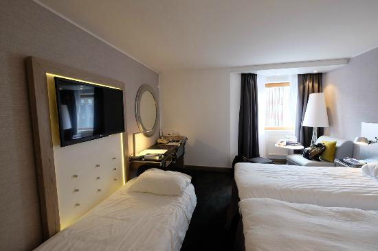 Radisson Blu Royal Viking Hotel Stockholm The Room With Extra Bed But Not