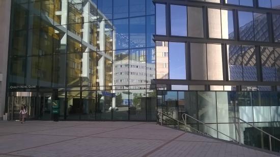 side view bild fr n quality hotel globe stockholm tripadvisor. Black Bedroom Furniture Sets. Home Design Ideas