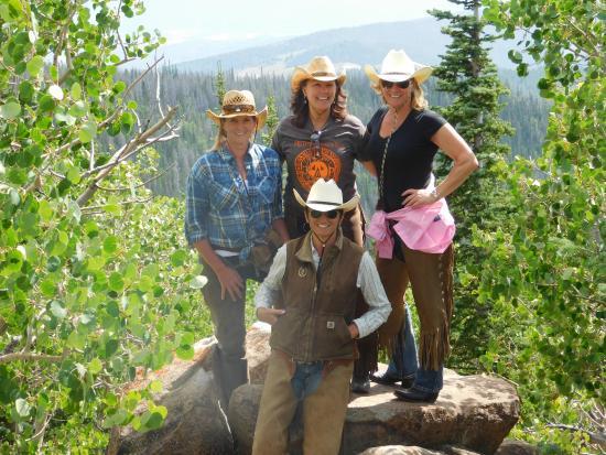 Mc Coy, CO: Top of Black Mountain