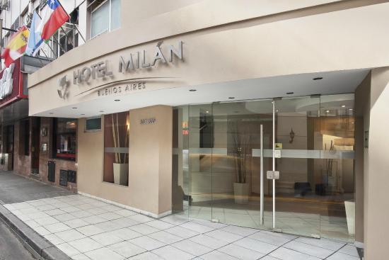 Hotel Milan: Fachada