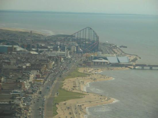 Burbage Holiday Lodge: Blackpool from the tower