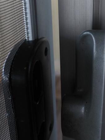 Silverlake, WA: large 1/2 inch gap where door gaps-gaps on both sides