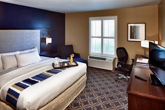 Nationwide Hotel and Conference Center: Comfortable King Room