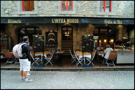 Intra Muros SaintMalo  Photo De Restaurant Intra Muros Saint