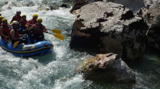 Mamut Slovenia - Day Tours: rafting soča