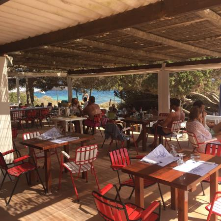 Sa Platgeta Nice Authentic Restaurant On The Beach Not Easy To Find