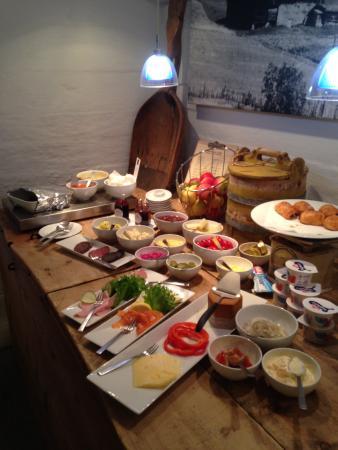 Nedre Heidal, Norwegen: Breakfast spread