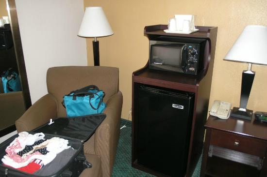 Comfort Inn Northeast : Fridge & microwave