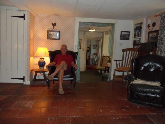The Stag Hunters Hotel: roger in the lounge