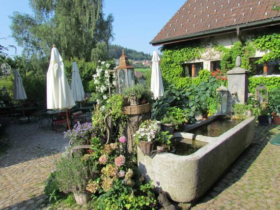 Landgasthof Bären: View from my breakfast table