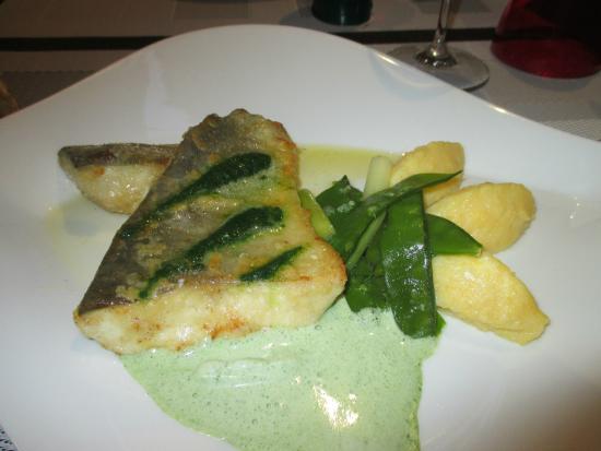 Bizanet, France : Filet d'omblet