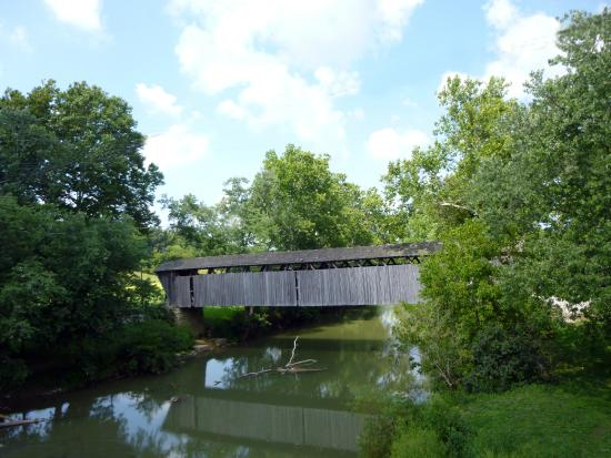 Frankfort, KY: Switzer Covered Bridge and Stream