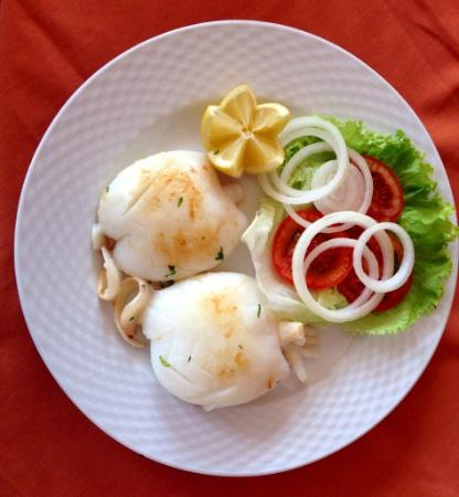 los Tarajales : grilled cuttlefish