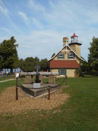 Egg Harbor, WI: Eagle Bluff Lighthouse