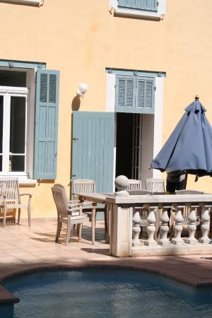 Tamaris-sur-Mer, Francia: The terrace