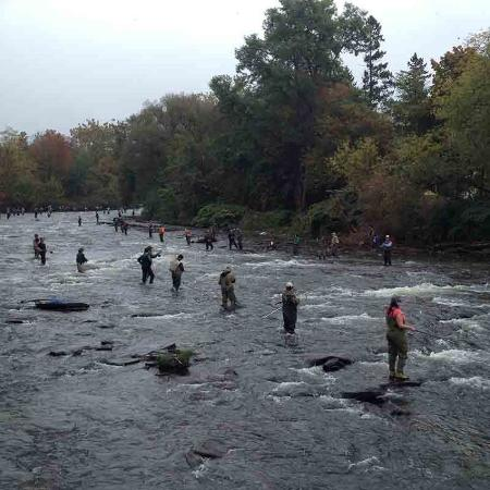 Pulaski, Nowy Jork: Fishing