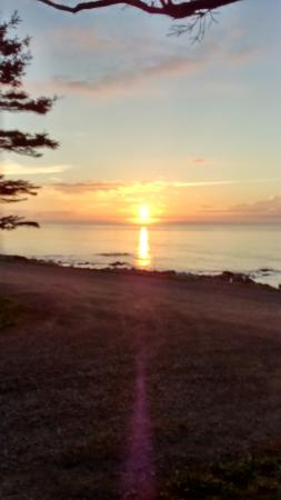 Bridgetown, Canadá: nearby sunset